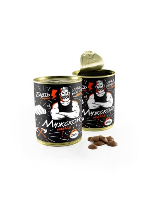 Шоколадный набор: Мужской шоколад Жесть