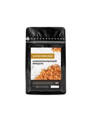 Карамелизованный миндаль Almond Bresilienne Callebaut 0.2 кг