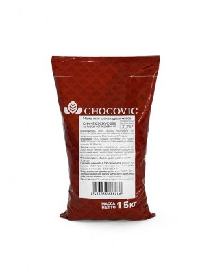 Шоколад молочный Chocovic 31,7% 1,5 кг