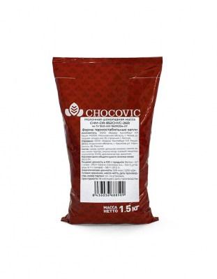 Термостабильные капли из молочного шоколада Chocovic (1,5 кг)