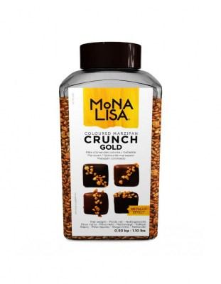 Марципановые кусочки Золотые Crunch Gold 0.5 кг