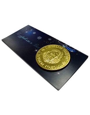 Открытка с медалью 25гр