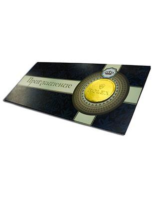 Открытка с монетой 6гр