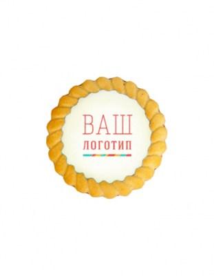 Сдобное печенье с мармеладом