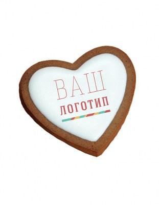 Имбирное печенье Сердце