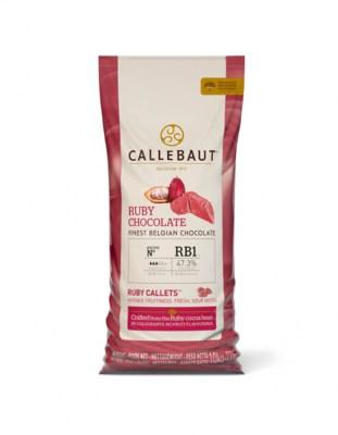 Рубиновый шоколад Ruby Callebaut 10 кг
