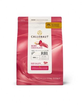 Рубиновый шоколад Ruby Callebaut 2,5 кг