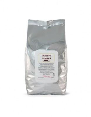 Глазурь кондитерская темная Sicao (1 кг)