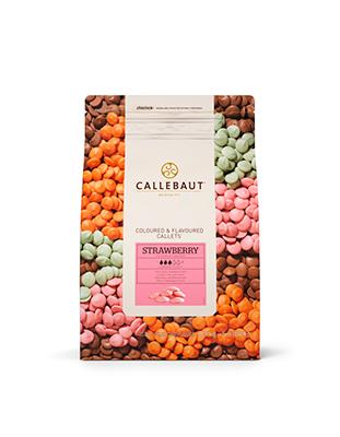 Шоколад Callebaut Strawberry (2,5 кг)