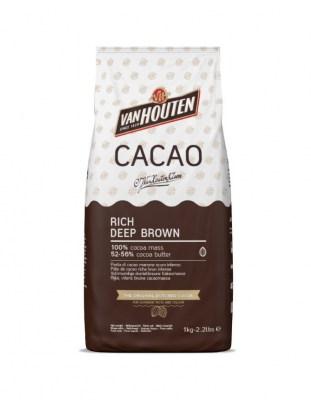 Какао масса Van Houten 52-56% (1 кг)